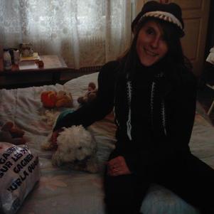 zizou et ma petite chienne chipie