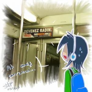 Cher métro...