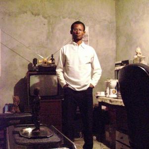 Francis dans son bureau privé