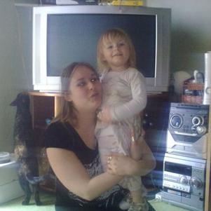 moi et ma fille mon ange