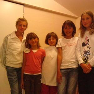 Marion , Audrey , Lola , Lucie , Moi