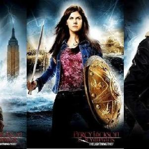Persée (Percy Jackson,Annabeth Chase, Grover Underwood :)