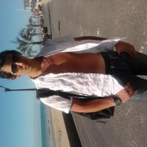 moi a la plage de donville