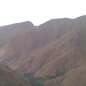 Les collines du Maroc