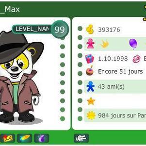 La carte de Max