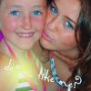 Miley et sa petite soeur; Noah ! :)