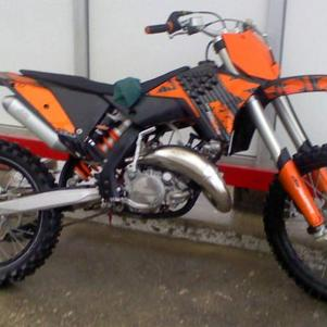 motocross ktm 250cc