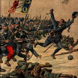 charge des français sous le soleil du mois d'aout 1914