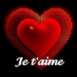 """offert par mon z""""homme je t""""aime"""