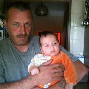 mon fils avec mon cheri