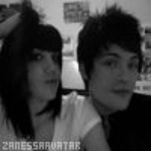 Une magnique photo de Adam et Angy <3