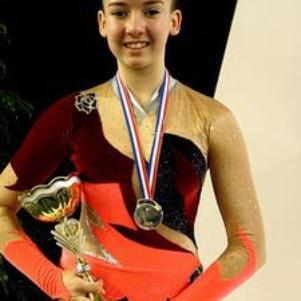 moi, vice championne de France en crit cadette