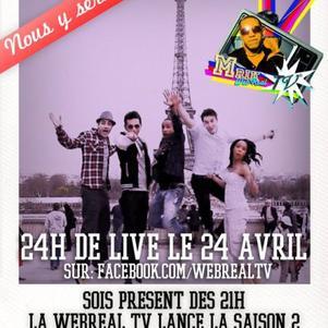 La Team WebReal TV U-Wet présente les 24h de live !