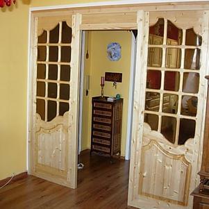 réalisation portes d'entrée de salle a manger vitrées