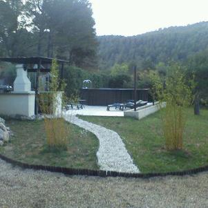 chez moi mon jardin et piscine