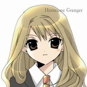 Hermione en manga