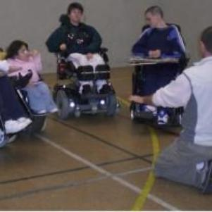 Equipe du foot fauteuil