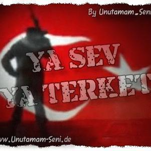 je suis fier d'étre turc..................