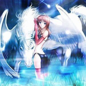 J'adore le chevaux et la brume,image parfaite,lol