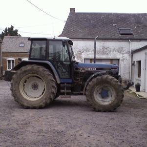 alors sa c du tracteur ford 8340 sle powerstar 140 cheveaux