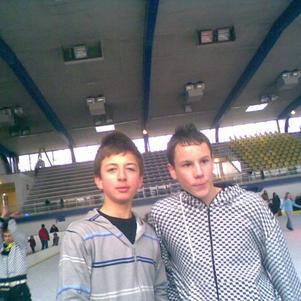 Romain et Moi: Brian Joubert a la patinoir hein romain