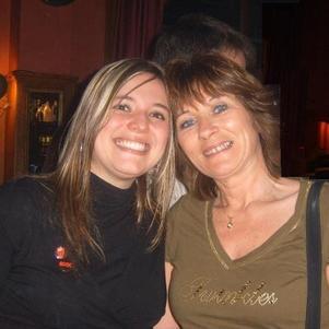 Cristina y Paulette