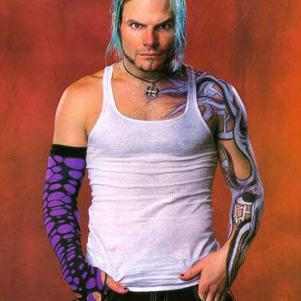 The Rainbow-Haired-Warrior Jeff Hardy