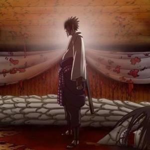 trop bien quand il tue Orochimaru!!!!