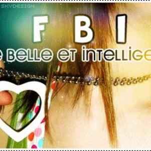 FILLE BELLE ET INTELLIGENTE