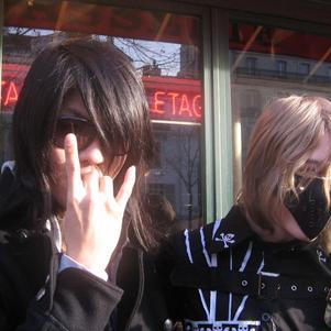 Moi et ShuU (bassiste de girugämesh)
