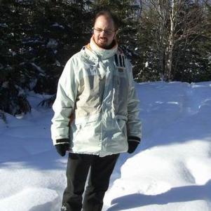 C`est moi dans la neige