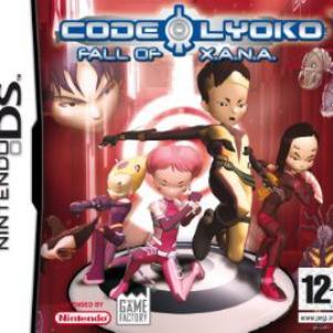 Voicie la jaquette du jeu Code lyoko fall of xana