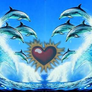 coeur , dauphin