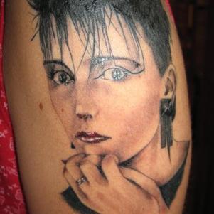 la photo que je me suis fait tatouer sur le bras