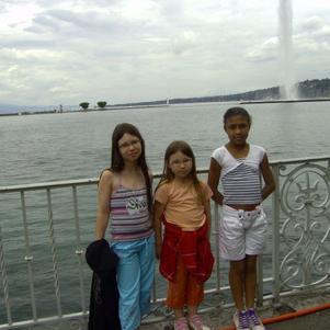 mes nenettes en suisse au bord du lac leman