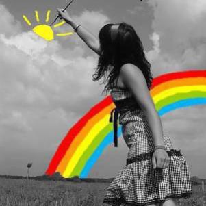 Rêve ta vie en couleurs, c'est le secert du bonheur =)