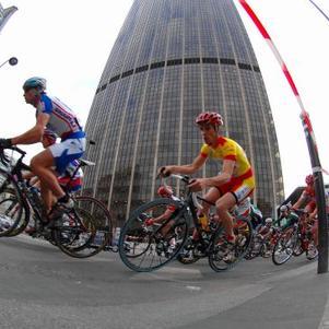 Course à Montparnasse... Trop classe la photo !