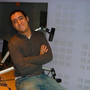 Myself dans le studio A !