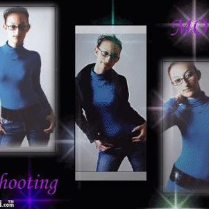 moi en mode shooting