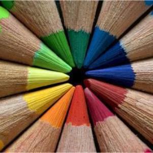 ma vie est un arc enciel de couleurs !!