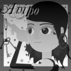 Anipo en noir et blanc