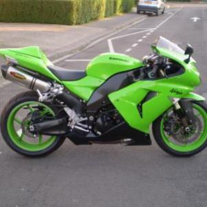 La moto de mon coeur