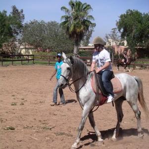 mwa a cheval