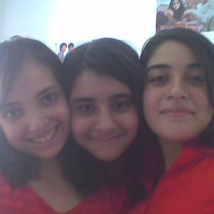 my sister me and my couzin