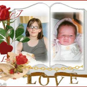 moi et petite soeur