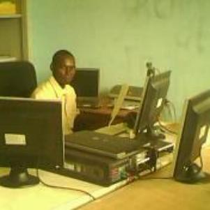 in my desk