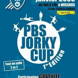 PBS JORKY CUP ! Tournois de foot en salle en 2x2 !