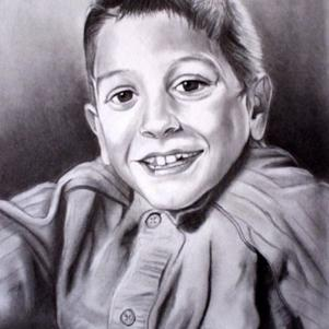 mon petit fils dylan dessiner par un ami
