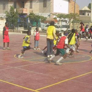 le mini basket en action