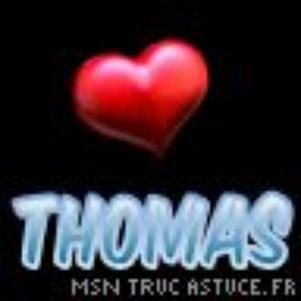 Thomas Je T'aime Plus Que Tout <3